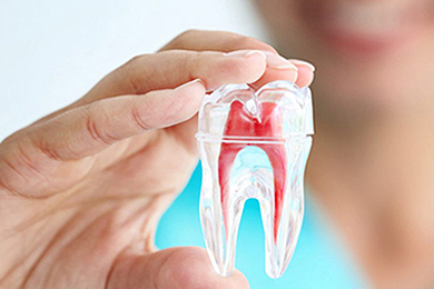 Root Canal and Crown